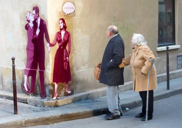 VERTIGO (Alfred Hitchcock, 1958) Artista Niko Foto Eric Marechal Paris França